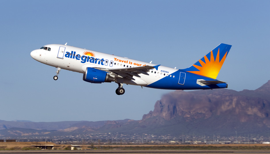 Allegiant Announces New Nonstop Service To Two New Cities With Fares As Low As $59*