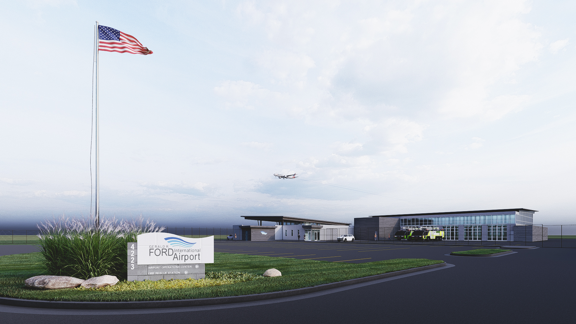 Ford Airport to Break Ground on $7.7 Million Operations Center