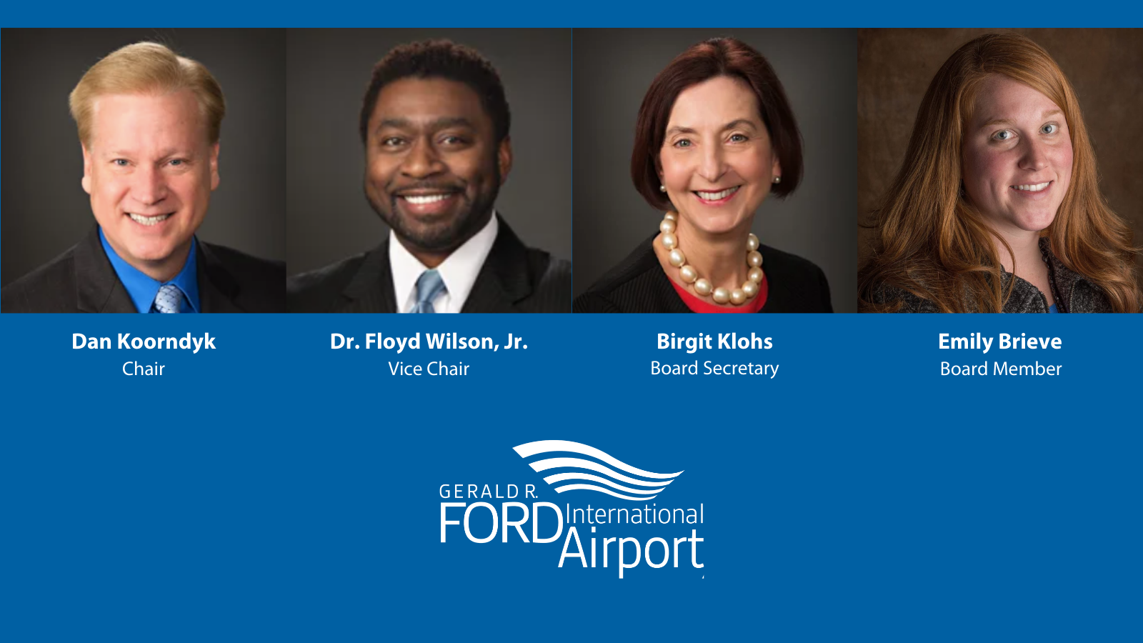 Kent County Commissioner Emily Brieve Appointed to Gerald R. Ford International Airport Authority Board of Directors