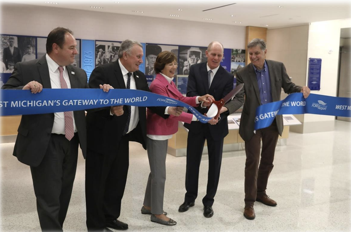 Gerald R. Ford International Airport & Gerald R. Ford Foundation Dedicate Ford Tribute Room