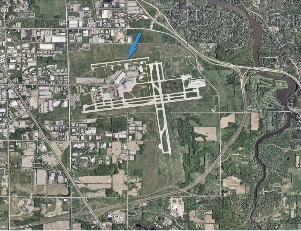 Gerald R. Ford International Airport Undergoing Runway Reconstruction