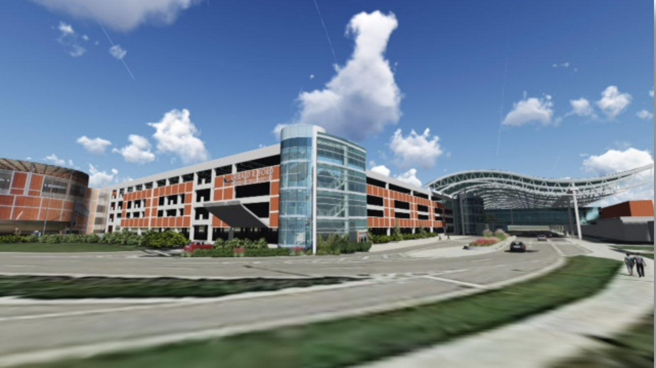 Gerald R. Ford International Airport Begins Construction on Parking Deck Roof