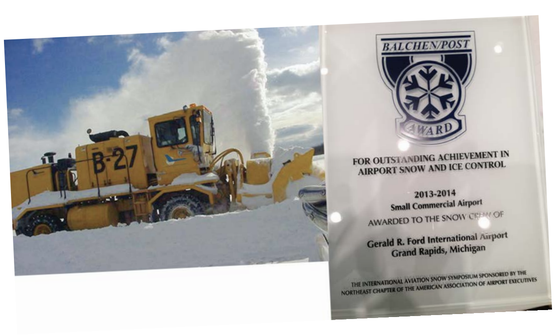 GFIA Awarded for Outstanding Achievement in Snow & Ice Control