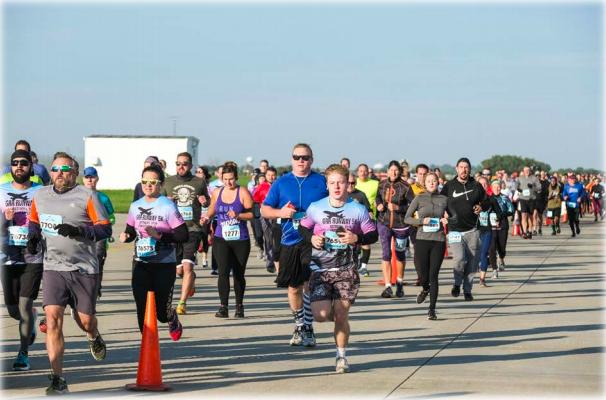 Over 1,200 Participate in Airport Runway 5K