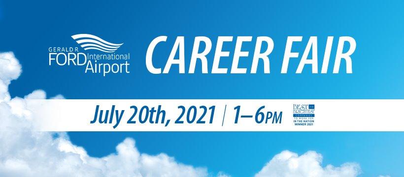 Gerald R. Ford International Airport Hosts Career Fair July 20