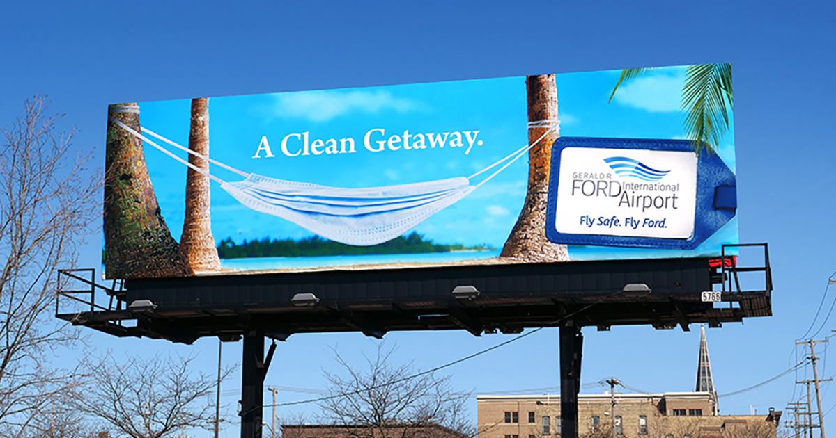 Out of Home Advertising: A Clean Getaway