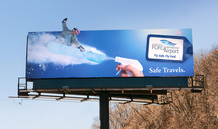 Out of Home Advertising: Safe Travels